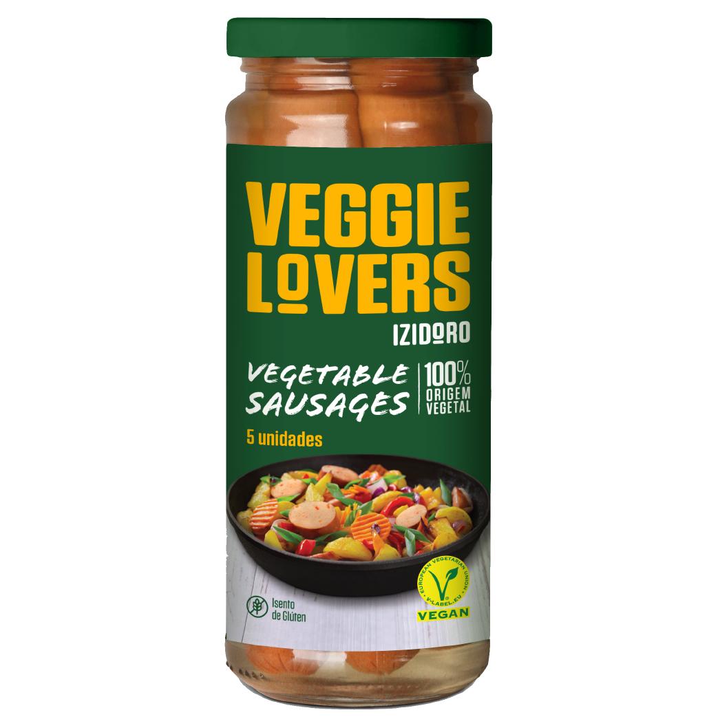 salsichas vegetais - Izidoro Veggie Lovers